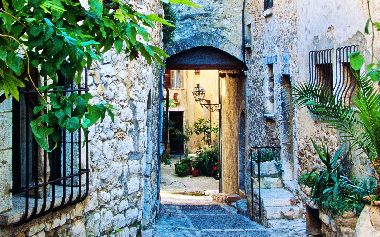 Financial Planning Companies. beautiful stone path and doorway with flowers