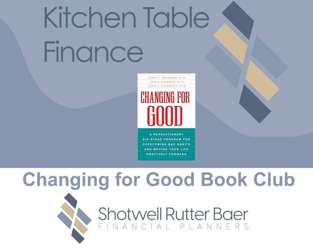 Changing For Good Book Club