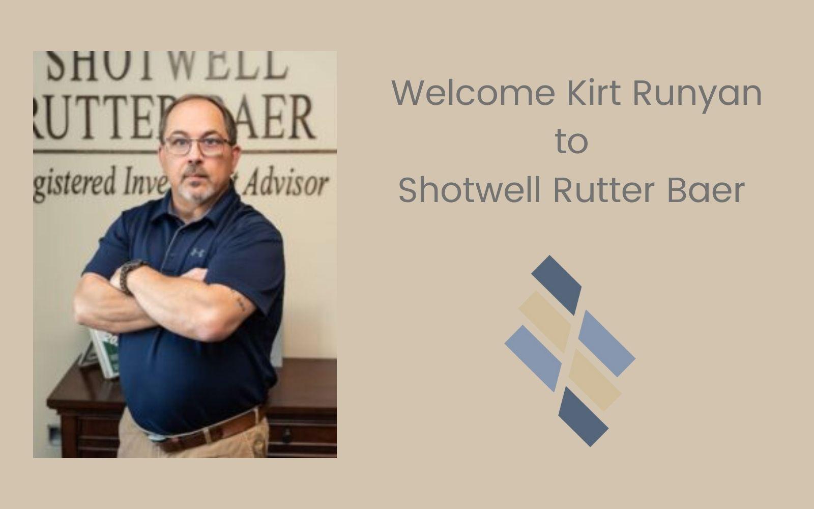 Welcome Kirt Runyan